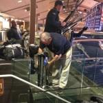 guy setting up tripod