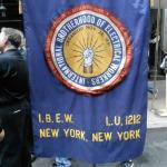 IBEW flag