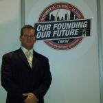 Ralph at the 39th IBEW Convention